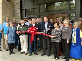 Ribbon Cutting a Big Success