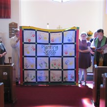 Quilt for VBS 2018 and Advent Children's Ministry