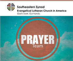 Synod Prayer Team - Come Join us!